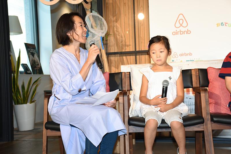 実際にAirbnbでホストを務めているAkemiさんとJumiちゃん
