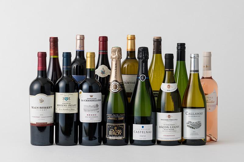 ビジネスクラスののワインセレクション