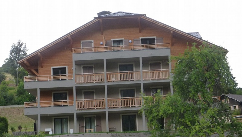 サン=ジェルヴェ=レ=バンで宿泊したホテル