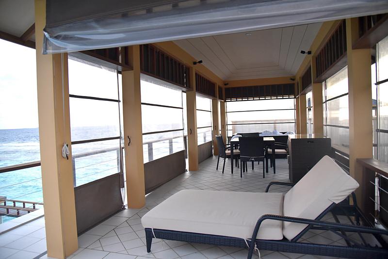 2階部分のBBQスペース