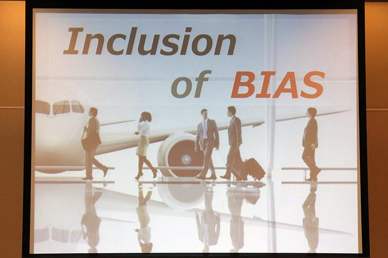 東京の2チームに設定されたテーマ「INCLUSION of BIAS」