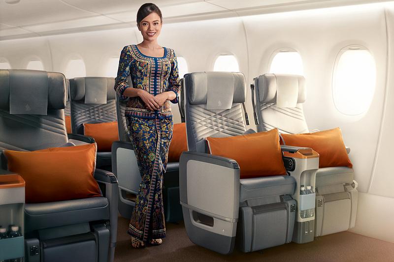 シンガポール航空のプレミアムエコノミークラス