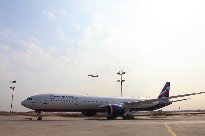 アエロフロートのボーイング 777-300ER型機