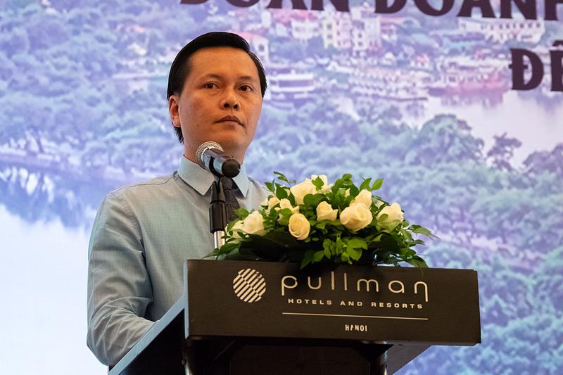 ハノイ観光局 局長(General Director, Hanoi Department of Tourism) チャン・ドゥック・ハイ(Tran Duc Hai)氏