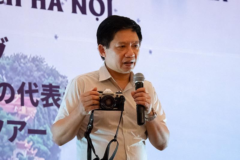 Director of Hanoitourist フォン・クアン・タン(Phung Quang Thang)氏