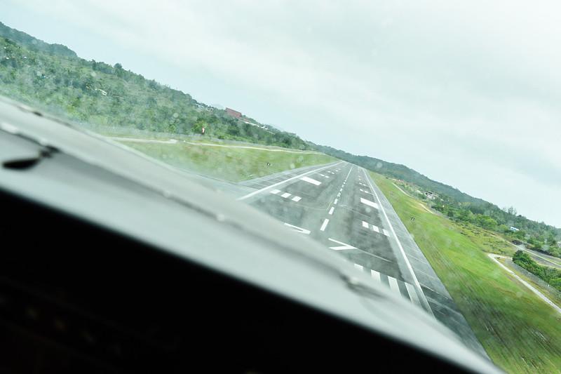 安全第一、ショートコースで空港へ戻ります。短時間でしたが、貴重な体験をありがとうございます!