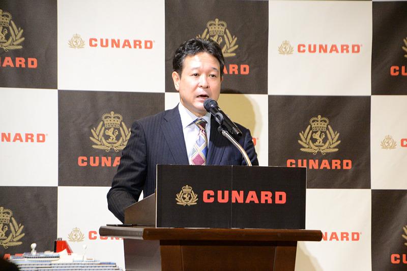 キュナード・ライン ジャパン代表 児島得正氏