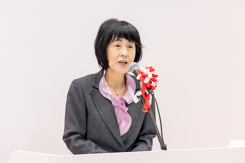 高橋はるみ北海道知事(写真は北海道新幹線開通式典時)