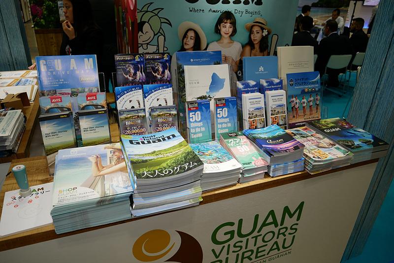観光パンフレットも多数用意し、見どころを詳しく紹介している