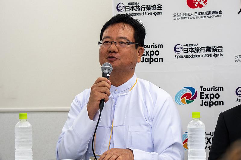全日本空輸株式会社 ヤンゴン支店長 鈴木康之氏