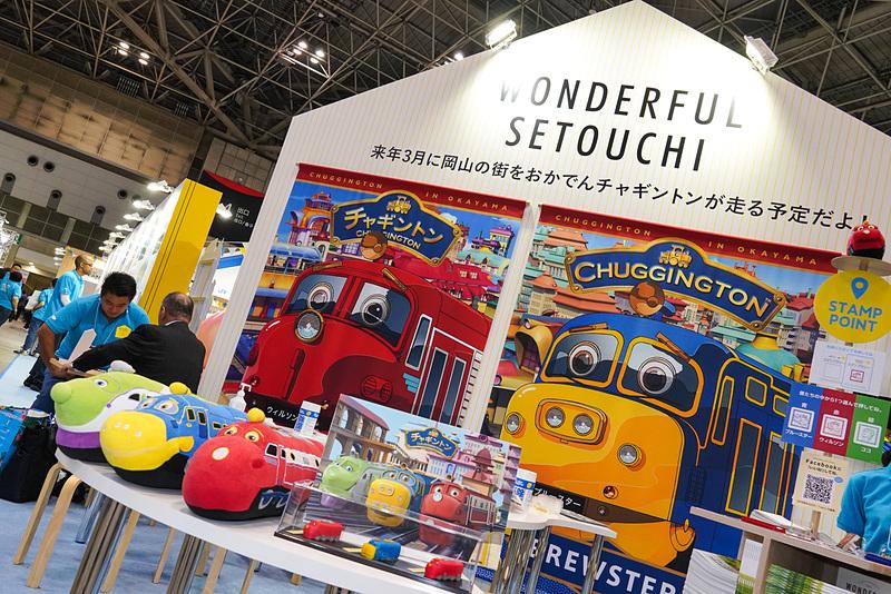 岡山電気軌道が岡山市内の路面電車として、英国の人気鉄道アニメ「チャギントン」のキャラクターを模した観光車両を2019年3月から走らせる