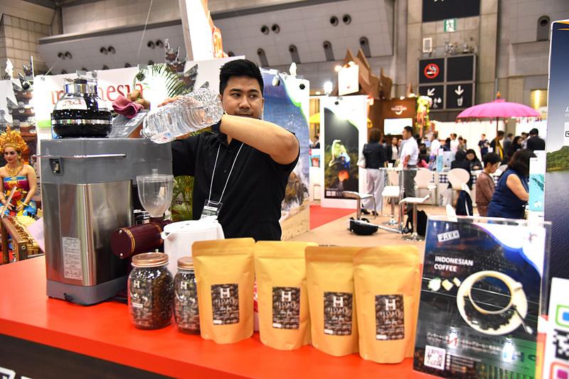 アンケートにオンラインで答えるとインドネシアコーヒーを1杯プレゼント