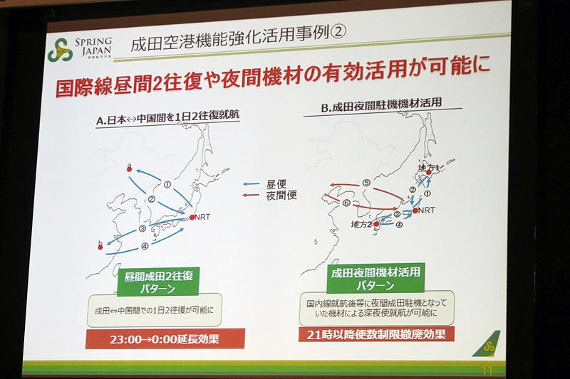 成田空港の夜間飛行制限緩和に対するLCCの期待は大きい