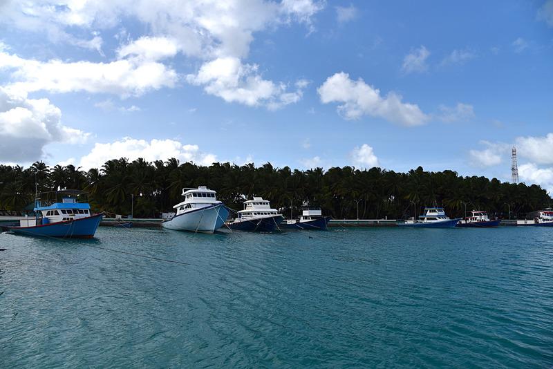 「Local Island Tour」ではBandidhooを訪問した