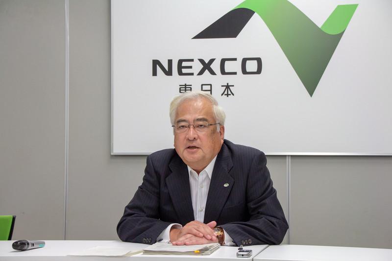 東日本高速道路株式会社 代表取締役社長 小畠徹氏