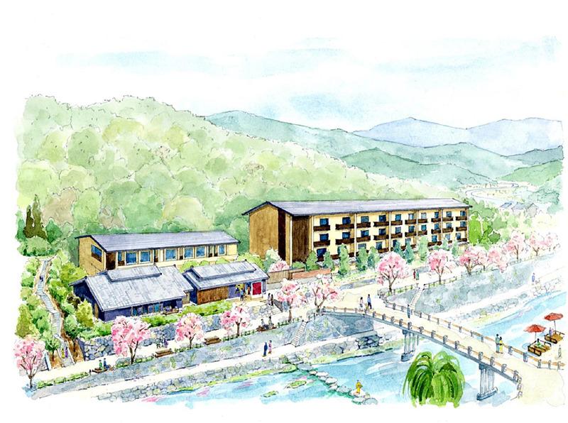 星野リゾートは山口県・長門湯本温泉に「星野リゾート 界 長門」を着工した