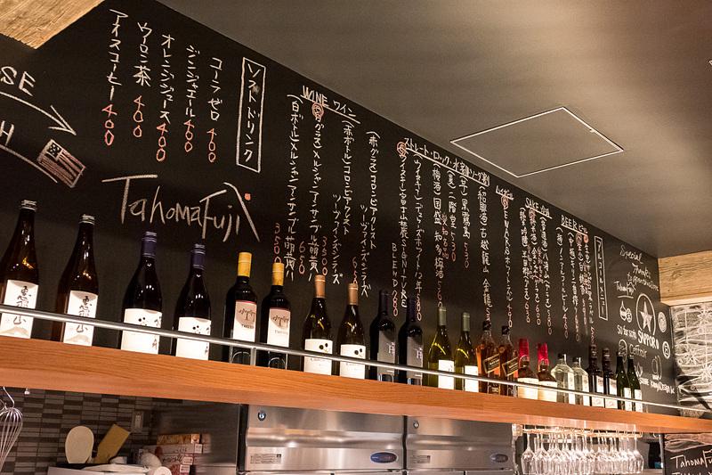 日本酒も多数並んでいる