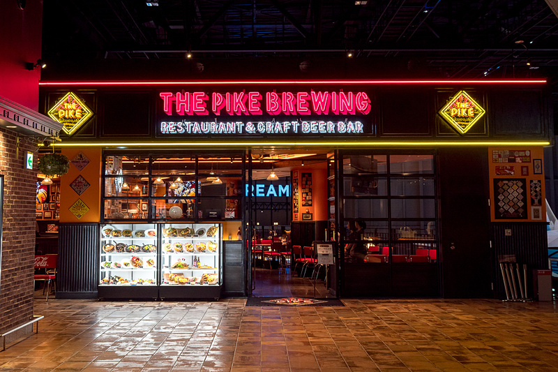 THE PIKE BREWING RESTAURANT & CRAFT BEER BAR(ザ パイクブリューイング レストラン アンド クラフトビアバー)