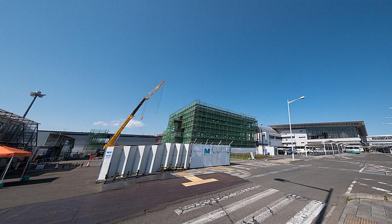 仙台空港が既存ターミナルの西側に建設していた「ピア棟」を、10月28日に供用開始する