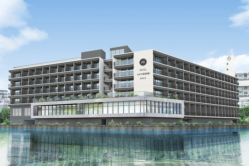 「ホテル アンテルーム 那覇」を沖縄県那覇市前島に開業する