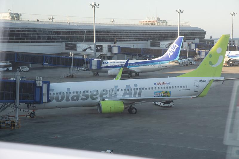10月28日から1日4便で就航したセントレア(中部国際空港)~鹿児島線