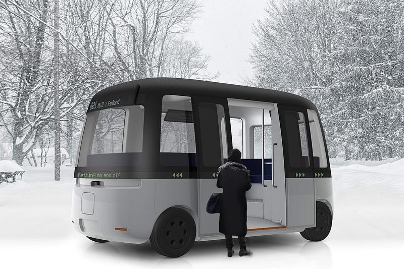 Gachaシャトルバスはあらゆる気象条件下でも機能する世界初の自動運転バス
