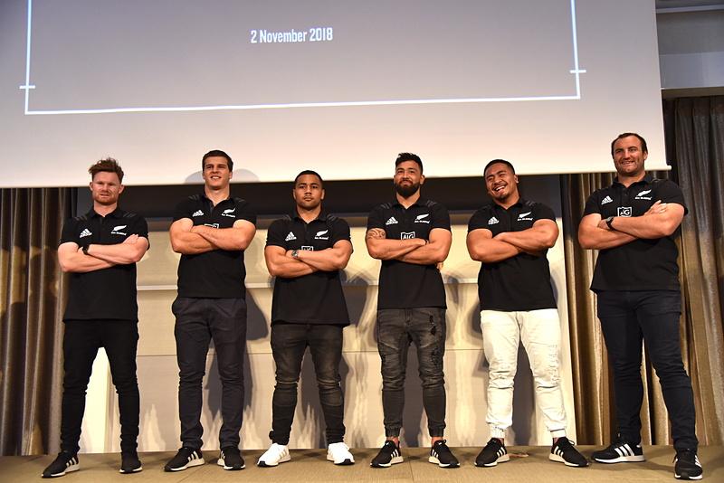 イベントにはオールブラックス所属の6選手が登場