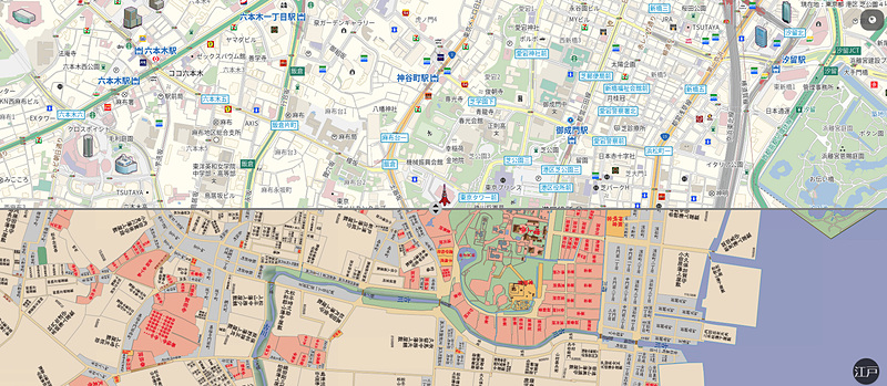 インクリメントPが「古地図 with MapFan」を公開した