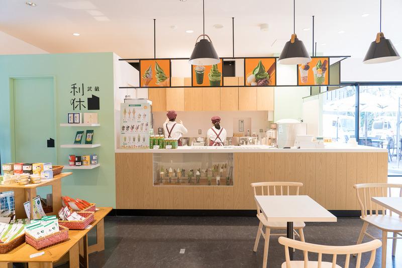 日本3大銘茶のひとつ狭山茶を存分に使った和スイーツ店「武蔵利休」