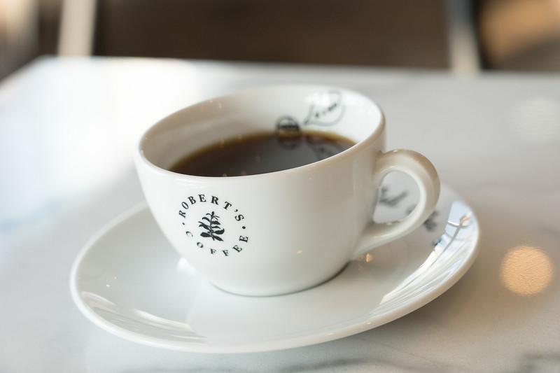 まろやかな味わいのブレンドコーヒー。Smallサイズで340円