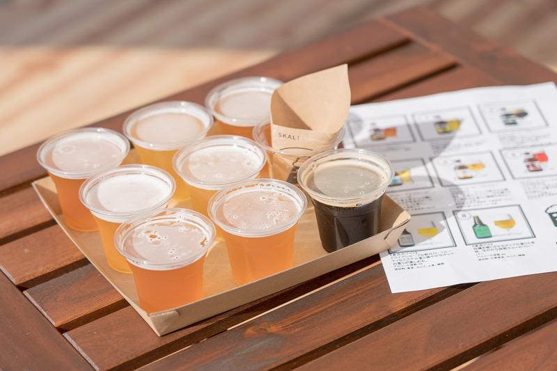 クラフトビール飲み比べセット8種(2600円)