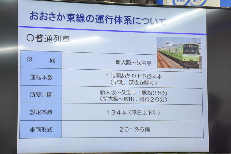 普通列車の概要