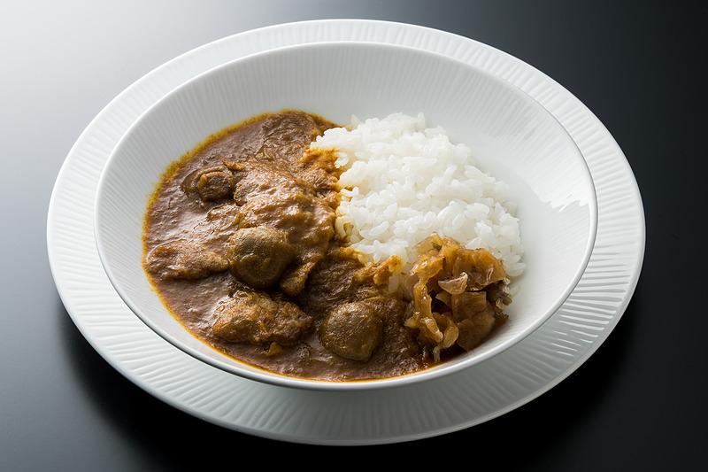 阿波尾鶏とマッシュルームのカレー(徳島)