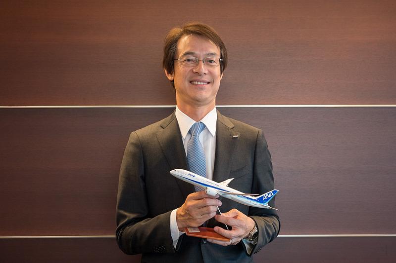 全日本空輸株式会社 CS&プロダクト・サービス室 室長 兼 ブランド戦略部 部長 阿瀬尚行氏
