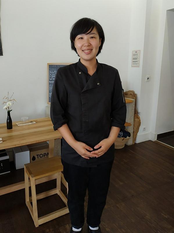 柳瀬さんは和洋のシェフ歴18年。京都で懐石を作っていたこともあるそうです