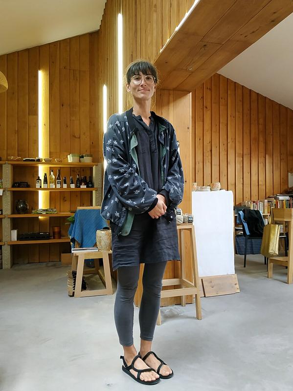 オーナーの一人、グロリア・玲子・ペドゥモントさん。毎年日本を訪れているそう