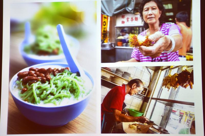 グリーンのビジュアルが鮮やかなチェンドルは伝統的なデザート