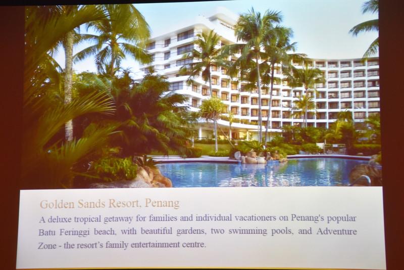 白を基調としたデザインの「Golden Sands Resort」