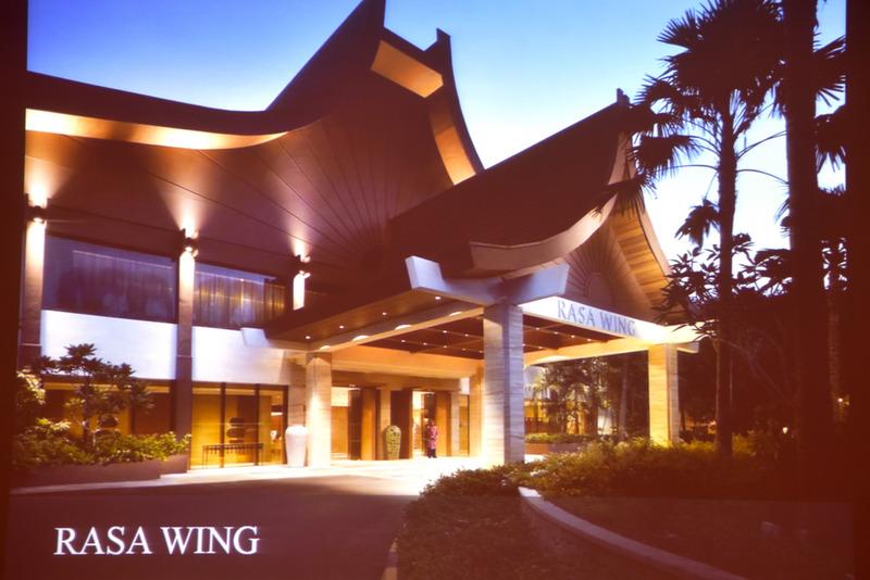 「Rasa Sayang Resort & Spa」の「Rasa Wing」