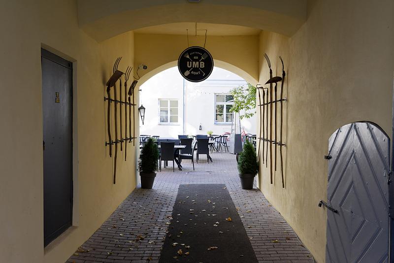 こちらはタルトゥの街中にあるレストラン「Umb Roht」