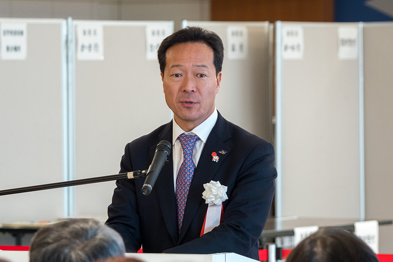旭川空港ビル株式会社 代表取締役社長・旭川市長 西川将人氏