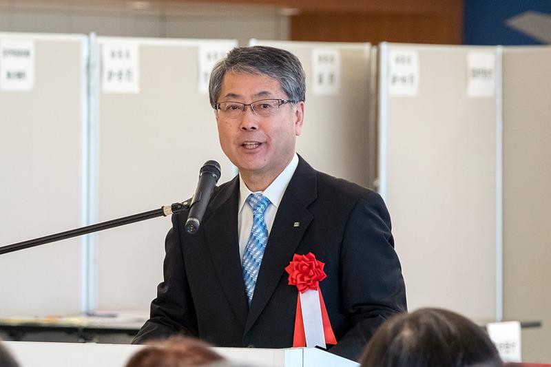 北海道副知事 阿部啓二氏