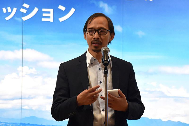 インドネシア共和国大使館 一等書記官 スギリ・スパルワン氏