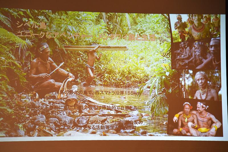 地元の人々と道具を作ったりと生活体験も可能なシベル島