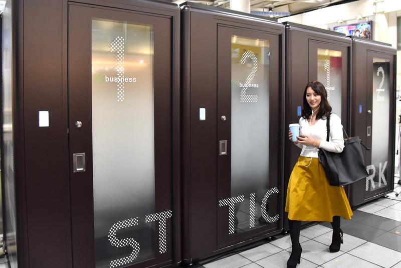 JR東日本が「STATION BOOTH」を品川駅改札内に設置