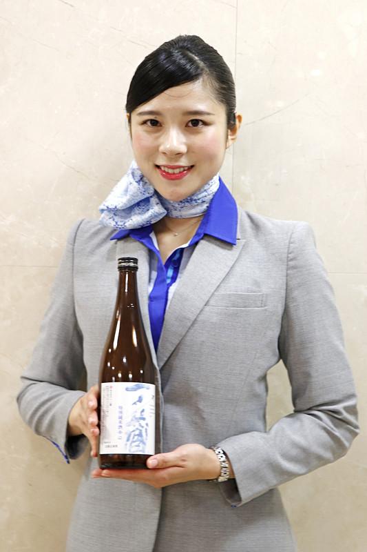 日本橋高島屋 本館で実施された「日本酒まつり」で行なったトークショー「ANAも採用する一ノ蔵の味と酒造りへの情熱」にANAが参加した
