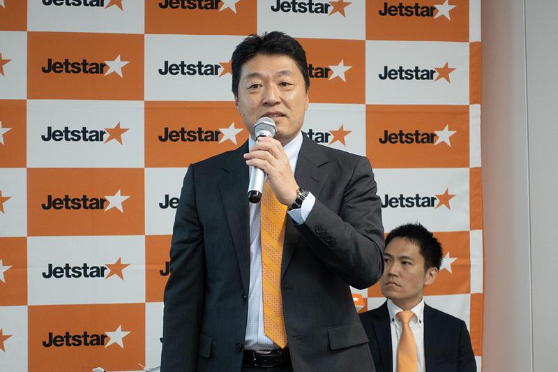 ジェットスター・ジャパン株式会社 代表取締役社長 片岡優氏