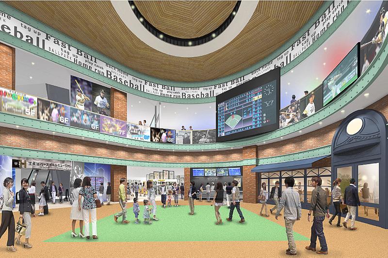 4階の「王貞治ベースボールミュージアム」