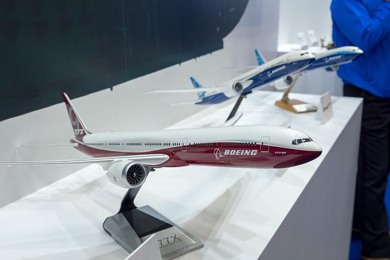 ボーイング 787型機のほか、777型機、777X型機の部品製造にも参画