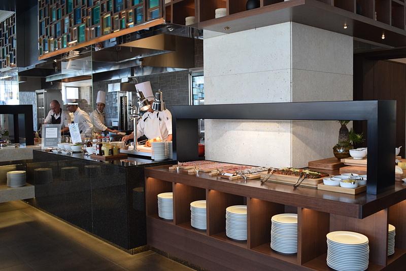 レストラン セラーレのオープンキッチン